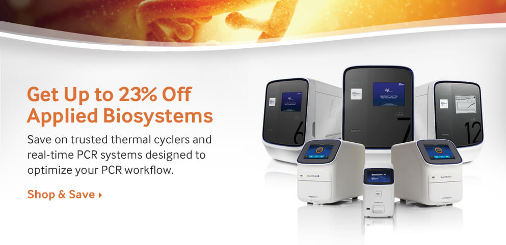 Save Big on PCR Instruments