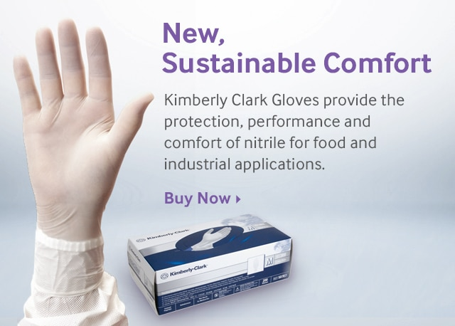 New Kimberly Clark Nitrile Gloves