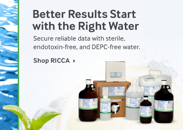 RICCA Water for Molecular Biology