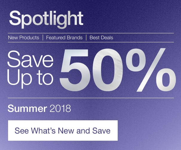 Spotlight, Save up to 50% Off