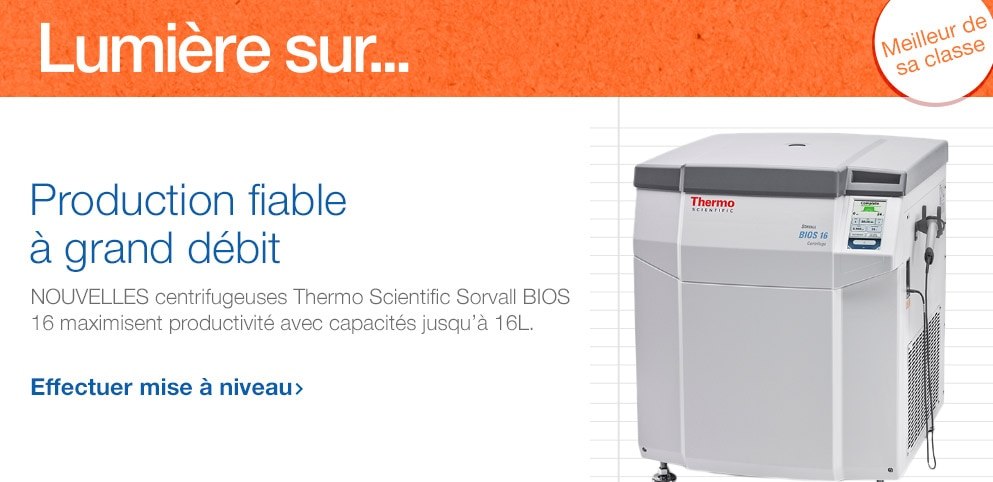 Centrifugeuses Thermo Scientific BIOS 16