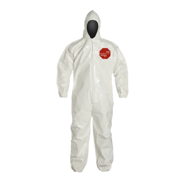 DuPont™ Tychem™ 4000 Coverall with Standard Fit Hood