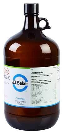 Acetonitrile, BAKER ANALYZED HPLC ULTRA Gradient Solvent, J.T.Baker™